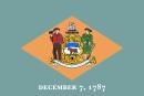 флаг штата Делавэр