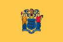 флаг штата Нью Джерси