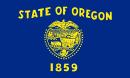 флаг штата Орегон