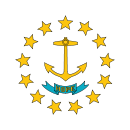флаг штата Род-Айленд