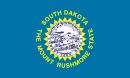 флаг штата Южная Дакота