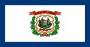 флаг штата Западная Вирджиния