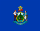 флаг штата Мэн