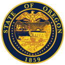 герб штата Орегон