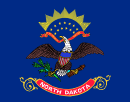 флаг штата Северная Дакота