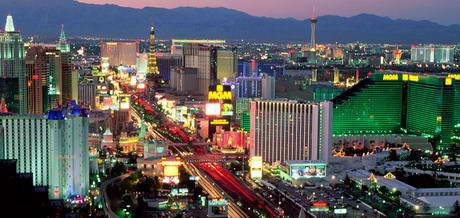 Лас-Вегас - город казино и развлечении