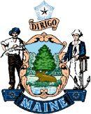 герб штата Мэн