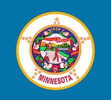флаг штата Миннесота