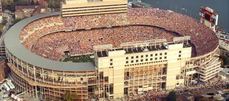 центральный стадион города Мемфис, штат Теннеси